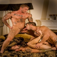 Gay stretched anal